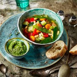 Provençaalse groentesoep met pistou
