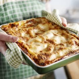 Lasagne met gegrilde groenten en ricotta