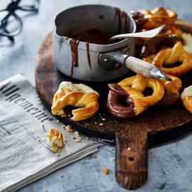 Choco-pretzels
