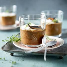 Portobello-cappuccino