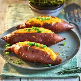Gesouffleerde zoete aardappel