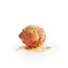 Oliebollen met kokos en limoen