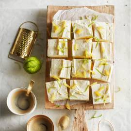 Gember-cheesecake met limoen