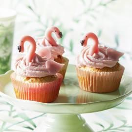 Flamingo-limoenmuffins