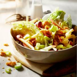 Waldorf wedge salad