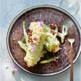 Pastarolletjes met zalm en dille-ricotta
