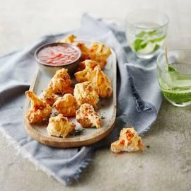 Crispy bloemkool-bites