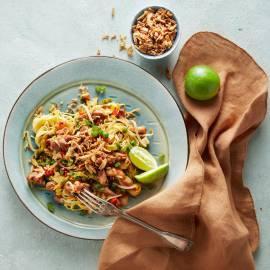 Exotische wokschotel met kip