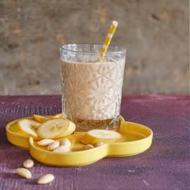 Ontbijtsmoothie met banaan en dadels