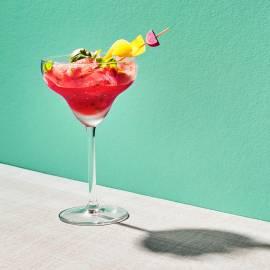 Watermeloen-basilicum cooler