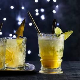 Ananas-mocktail met munt