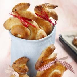 Paashaasjes van brood