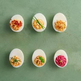 Basisrecept gevulde eieren
