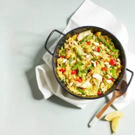 Veggie paella