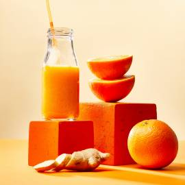 Oranje energy-smoothie