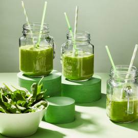 Groene lunch-smoothie