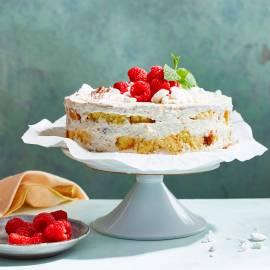 Frambozen-tiramisu-taart