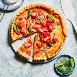 Aardbeien-crostata