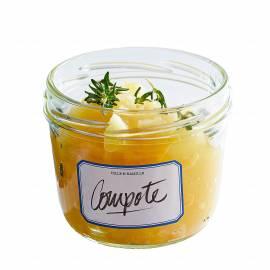 Appelcompote met vanille en tijm