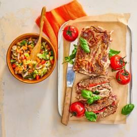 Toscaans gehaktbrood met pancetta
