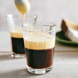Egg cream coffee