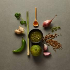 Groene Thaise currypasta