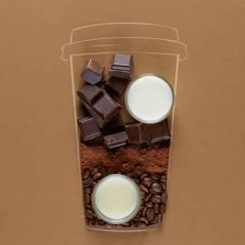 Coco-choco latte