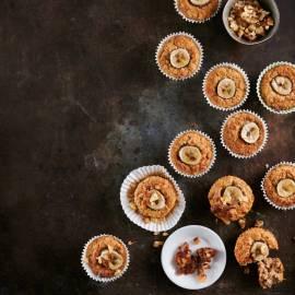 Dadel-banaanmuffins