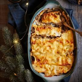 Paddenstoelen-cannelloni
