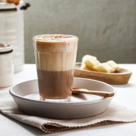 Verwenkoffie met soja-choco