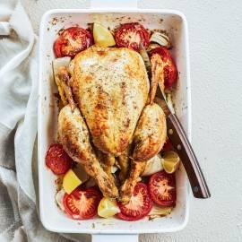 Geroosterde kip met venkel