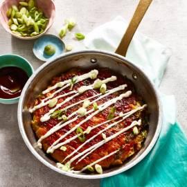 Japanse okonomiyaki