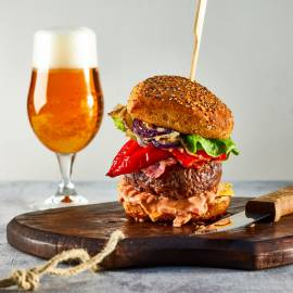 Ultieme bacon-cheddar burger
