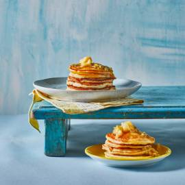 Ricotta pancakes met passievrucht