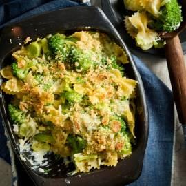 Broccoli-pastagratin met vier kazen
