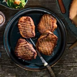 Biefstuk van de barbecue