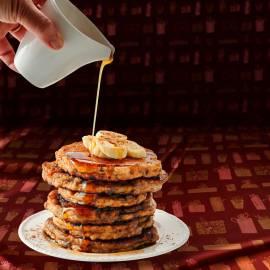 Speculaas-banaan pancakes