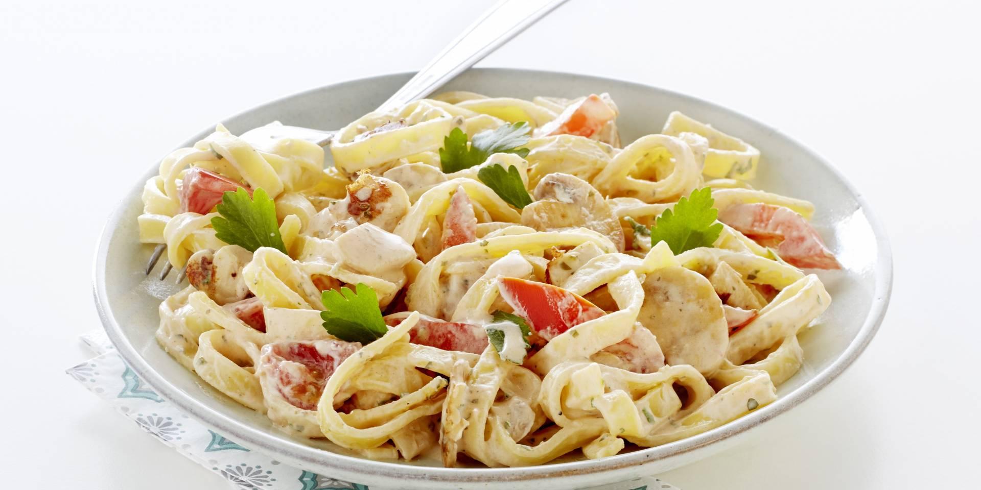 recepten met pasta en groenten