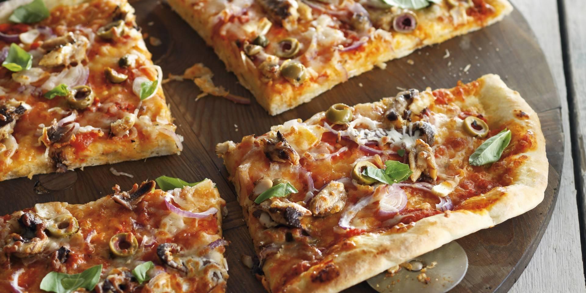 Anjovis Pizza
