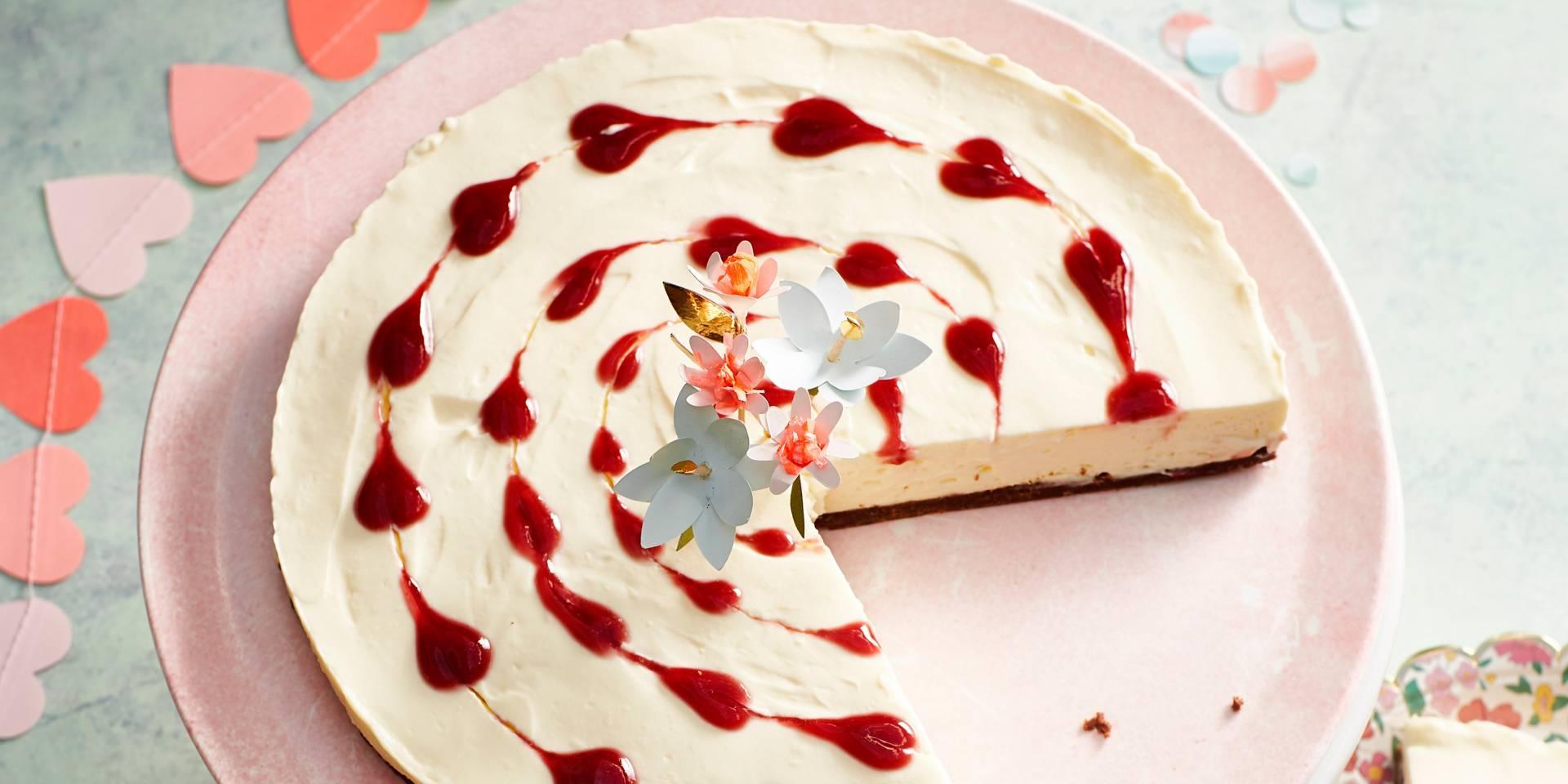 Wonderbaar Hartjes-cheesecake - Boodschappen PY-25