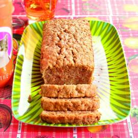 Wortel-notencake